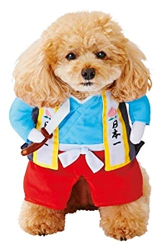 AQUEOUS ペット服の猫日本の侍コスプレ衣装ハロウィーン...