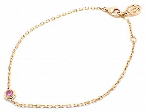 [カルティエ] Cartier サフィール ディアマン レジェ ドゥ カルティエ ブレスレット K18PG 750PG ピンクゴールド ピンクサファイア B6037300