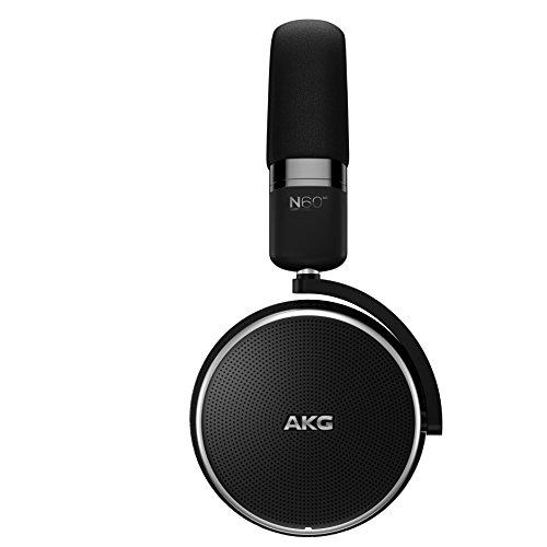 AKG N60NCWIRELESS ワイヤレスノイズキャンセリングヘッドホン Bluetooth 密閉型 AAC/apt-X対応【国内正規品】 AKGN60NCBTBLK