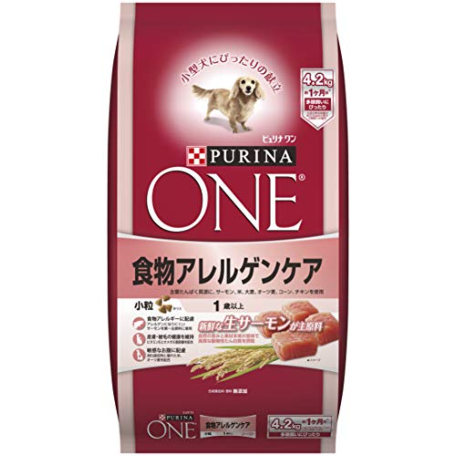 PURINA ONE (ピュリナ ワン) ドッグフード 1歳以上 食物アレルゲンケア 小粒 サーモン 成犬用(1歳以上) 4.2kg B00IIJGDE2 1枚目