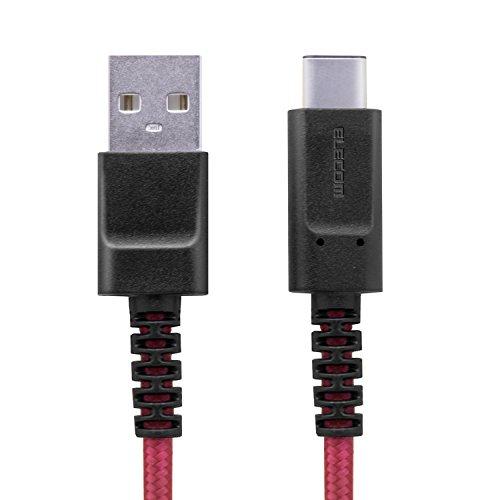 エレコム USB2.0ケーブル(高耐久A-C) MPA-FACS12RD 1個