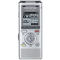 OLYMPUS ICレコーダー VoiceTrek 2GB MicroSD対応 MP3/WMA SLV シルバー V-821