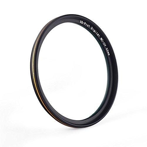 72mm レンズフィルター MC UV フィルター-ウルトラスリム16層多層加工 紫外線保護 99%透過率 Canon Nikon Sony対応