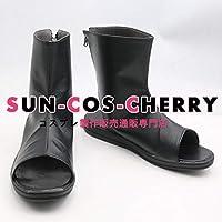 【サイズ選択可】コスプレ靴 ブーツ J-0390 Fate/Grand Order 沖田総司 男性26CM