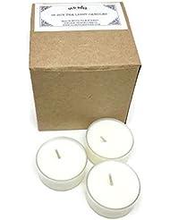 Egyptian Amber Scented Vegan Soy Tea Light Candles - 16 Box Set [並行輸入品]