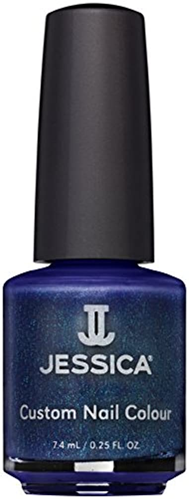 電卓人引き渡すJessica Nail Lacquer - Midnight Moonlight - 15ml / 0.5oz