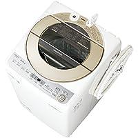 シャープ SHARP 全自動洗濯機 穴なし槽 ゴールド系 インバーター搭載 9kg ES-GV9C-N