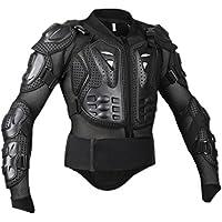 Fenteer MTB  BMX  バイク  モトクロス  保護装置  フルボディ プロテクター  ジャケット 鎧  ファブリック 全6サイズ