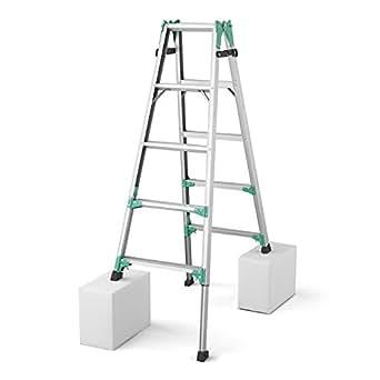 ハセガワ 脚部伸縮式はしご兼用脚立 RYZ1.0-15