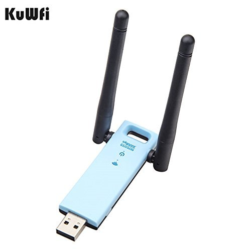 KuWFi WiFi long range extender Router USB WiFi Signal Booster Powered By USB Port Dual Band Extender Amplifier Signal Booster Works With any WI-FI router [並行輸入品]