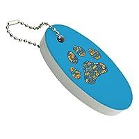 浮遊泡キーホルダー釣りボートブイキーフロートペット犬の猫プリント動物の詳細
