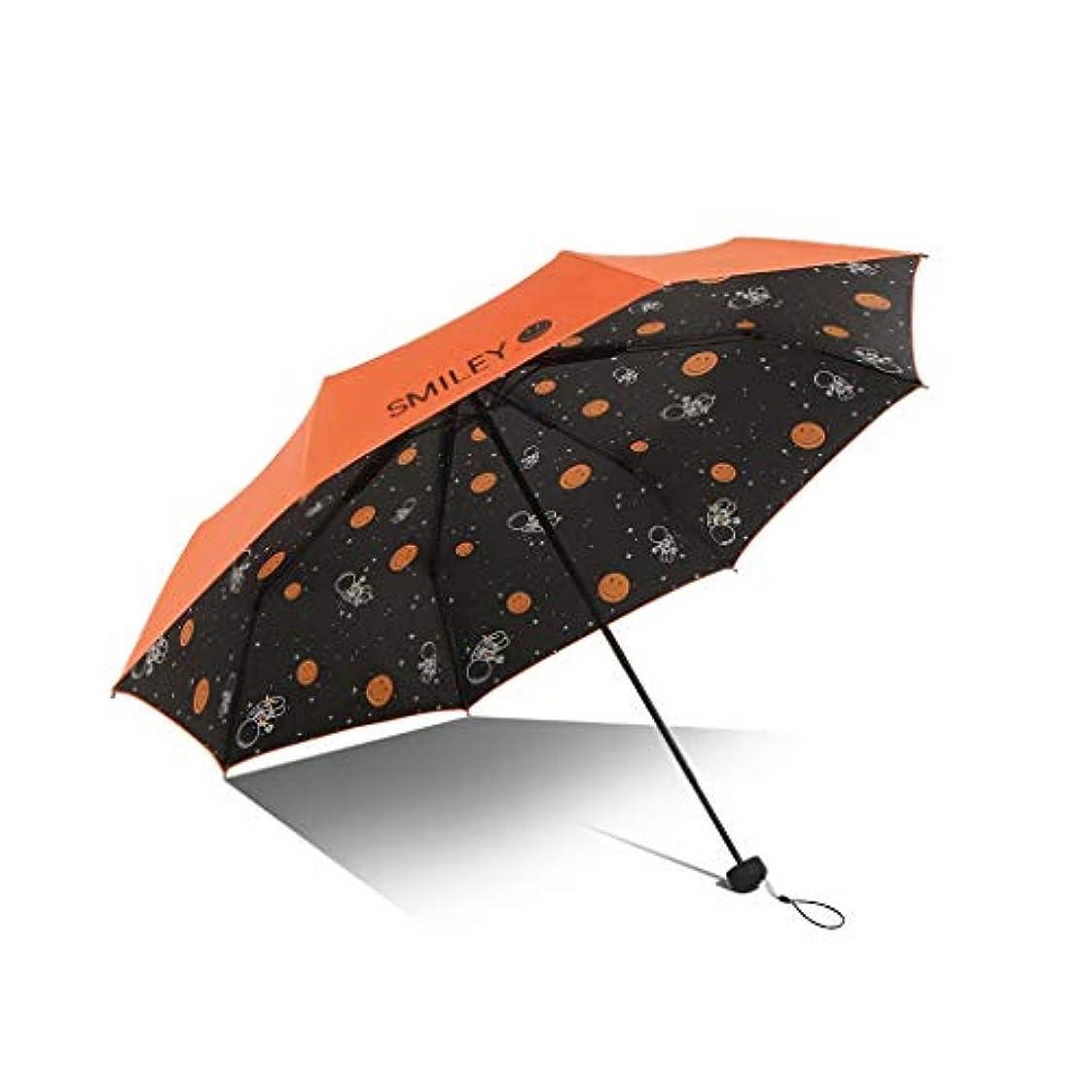 入力水平驚かすPy 傘日保護UV傘折りたたみデュアルユース日傘クリエイティブパーソナリティスウィートビューティー