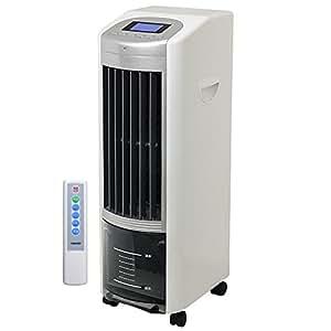 山善 冷風扇 (リモコン)(風量3段階) タイマー付 ホワイトシルバー FCR-EC40(WS)