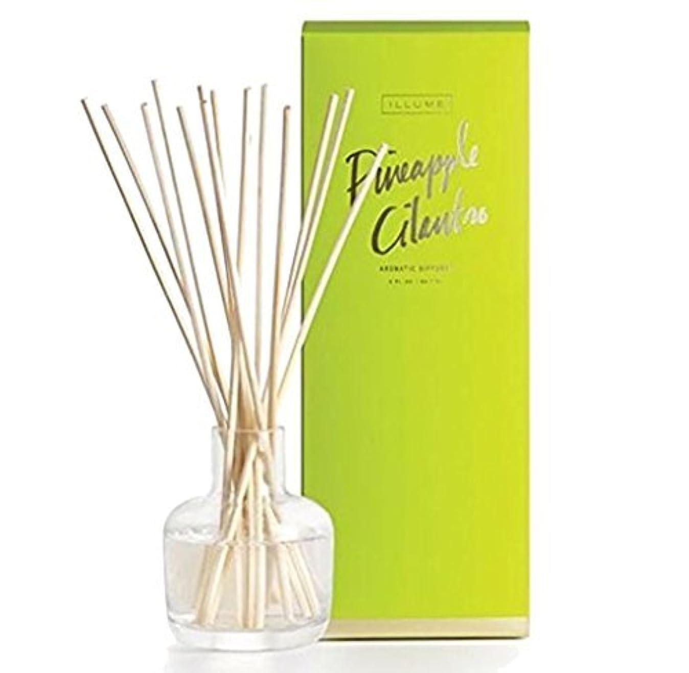 唇暗殺するアンティークIllume Pineapple Cilantro Essential Diffuser 3 oz [並行輸入品]
