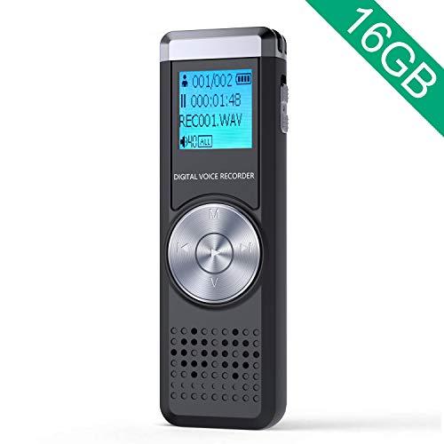 JOOMFEEN 16GB大容量 ボイスレコーダー B07QY6P5SZ 1枚目