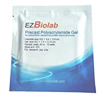 EZBiolab EZG2001-15F-50 Precast EZgel 15% 15 Wells 1.5 mm Thickness (Pack of 50) [並行輸入品]