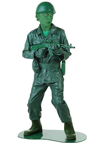ハロウィン 仮装 GREEN ARMY MAN 子供用 男の子 衣装 変装 ハロウィーン イベント パーティ 並行輸入品