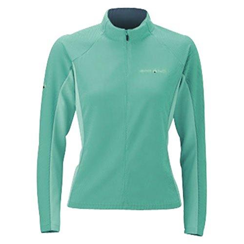 モンベル ジオライン3Dメッシュサイクルロングスリーブジップシャツ メンズ