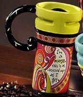 私は看護師セラミックコーヒー旅行マグ