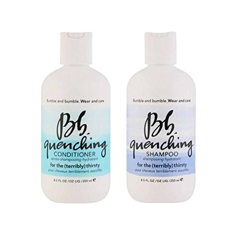 全国店主常習的シャンプーとコンディショナー - デュオを急冷着用し、世話 x4 - Bb Wear And Care Quenching Duo - Shampoo And Conditioner (Pack of 4) [並行輸入品]