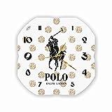 """Polo Ralph Lauren 11"""" 壁時計(ポロラルフローレン)あなたの友人のための最高の贈り物。あなたの家のためのオリジナルデザイン"""