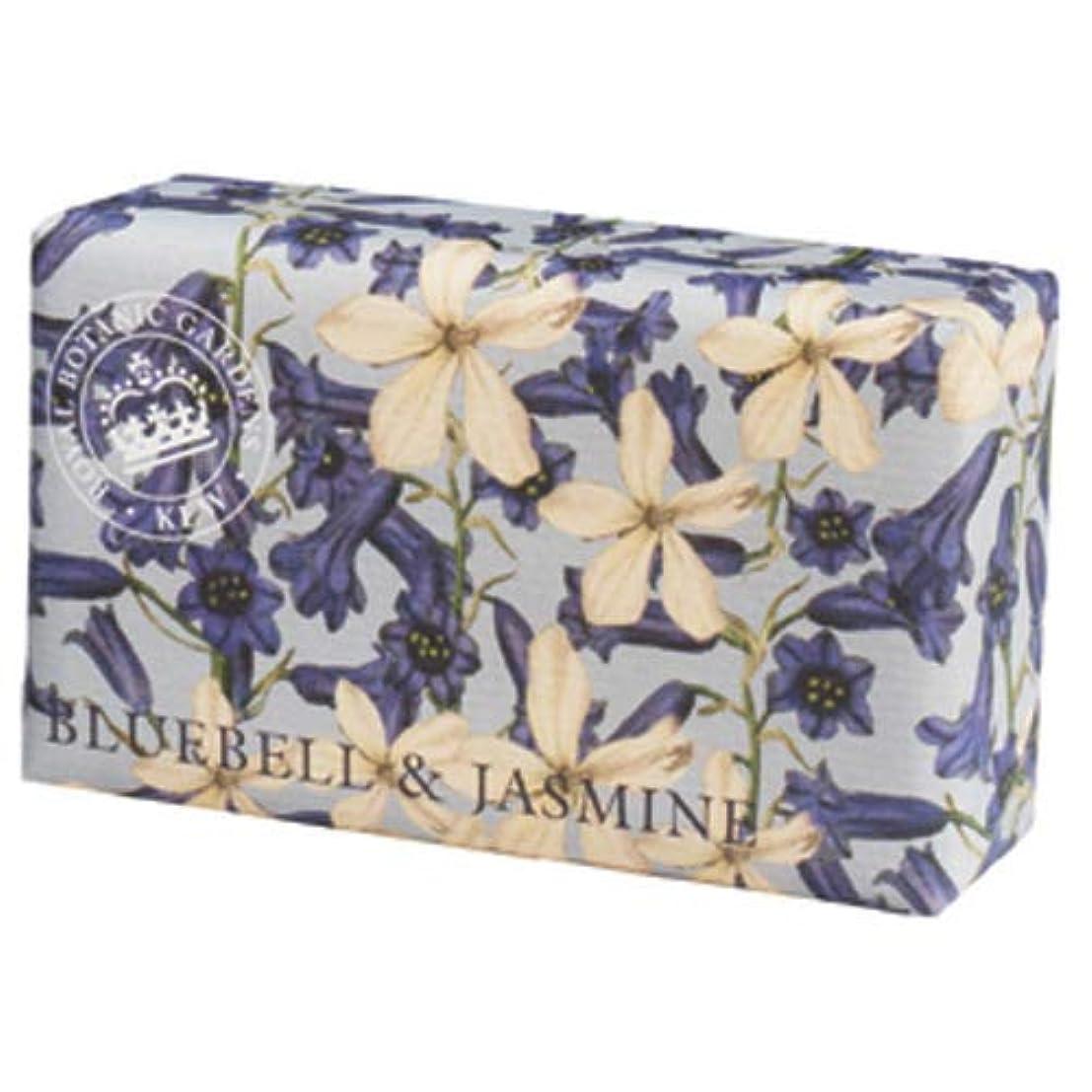 バランスくびれた混乱English Soap Company イングリッシュソープカンパニー KEW GARDEN キュー?ガーデン Luxury Shea Soaps シアソープ Bluebell & Jasmine ブルーベル&ジャスミン