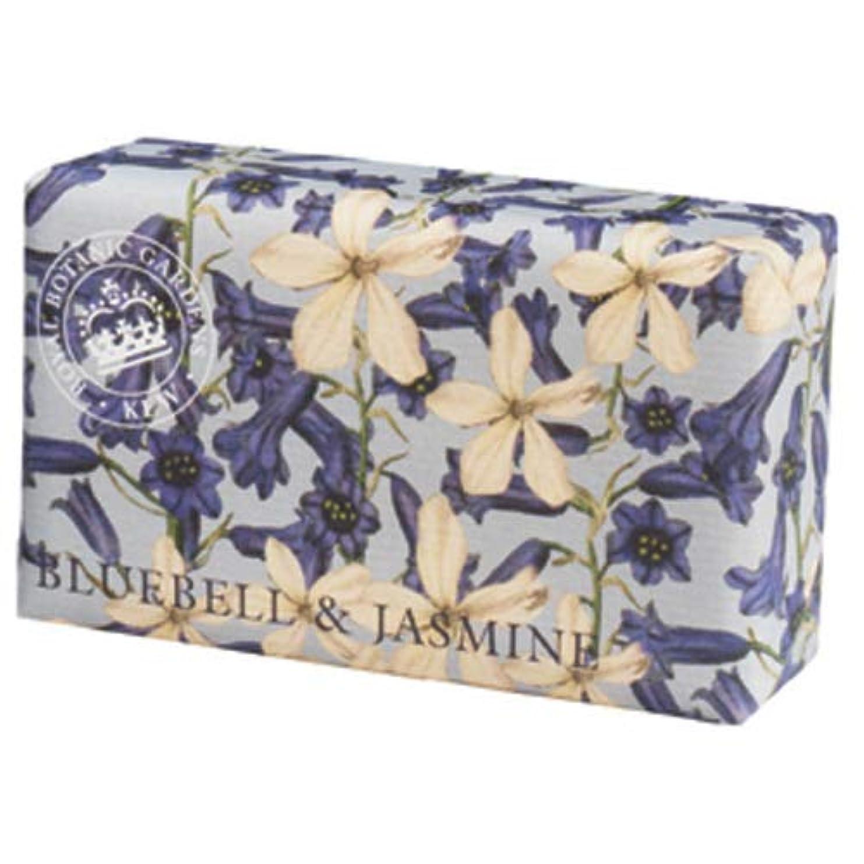 安全でないインゲン審判English Soap Company イングリッシュソープカンパニー KEW GARDEN キュー?ガーデン Luxury Shea Soaps シアソープ Bluebell & Jasmine ブルーベル&ジャスミン