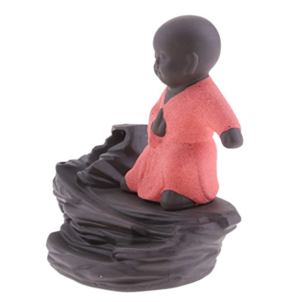 謝る北西未満JiliオンラインクリエイティブホームDecor The Little Monk / Tathagata / Buddha Statue逆流香炉香炉 96b804dd59b6789b9ce09875d285d232