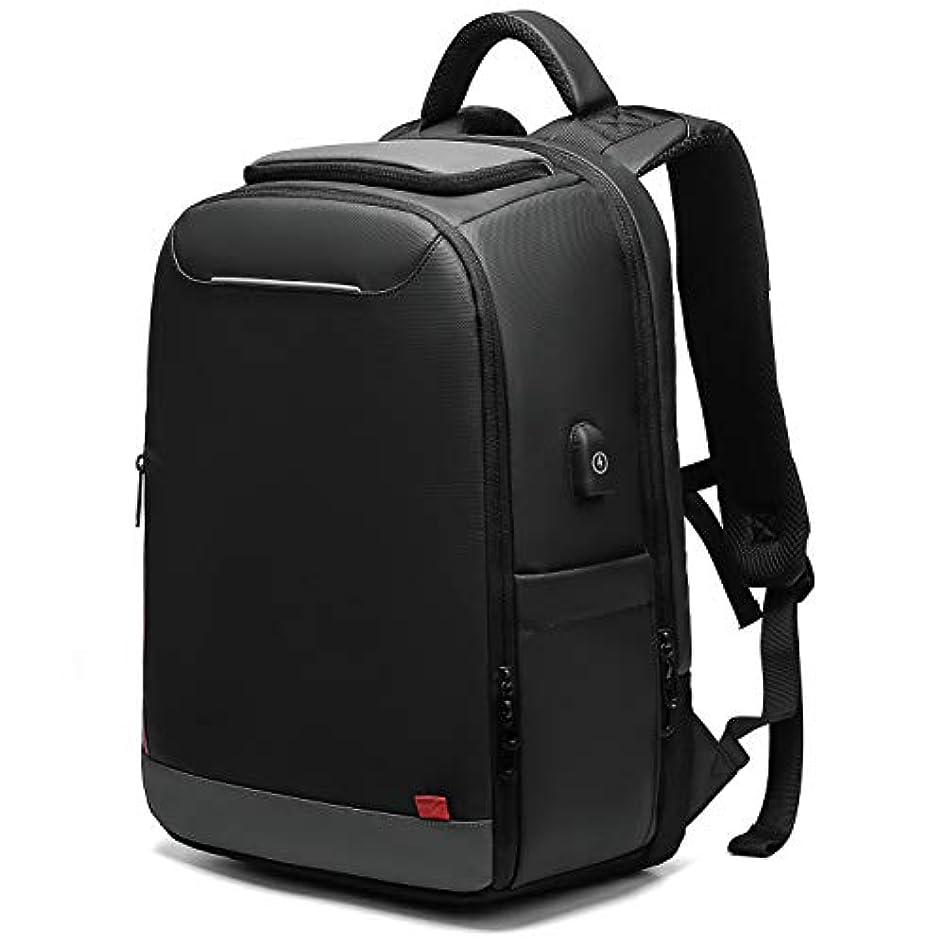役立つしおれたお勧め[Bellstone] リュック メンズ 大容量 防水 リュックサック ラップトップ PC バックパック ビジネス カジュアル USBポート 荷締めベルト付き BS-BG-0004