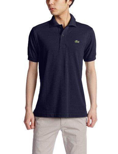 (ラコステ)LACOSTEラコステL.12.12ポロシャツ(無地・半袖)L1212A166ネイビー005