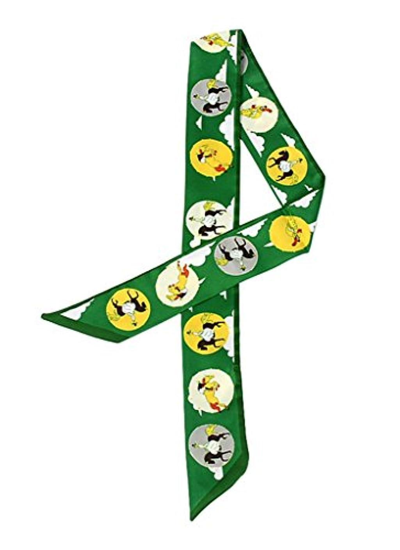 がっかりした戦艦幻想(トヨベイ)Toyobuy レディース バッグ用 細スカーフ リボン ハンドルスカーフ 巻きつけ アクセサリー 持ち手 小物 ツイリー スカーフ
