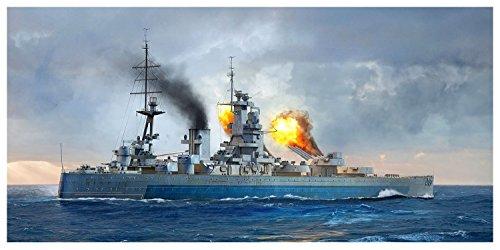 トランペッター 1/700 イギリス海軍 戦艦 HMS ネルソン 1944 プラモデル 06717