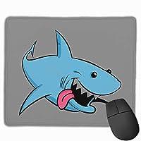 Shark サメ マウスパッド 家庭 自由な操作できる レーザー&光学式マウス対応 ズレにくい マウスパッド パソコン作業 マウス敷 おしゃれ