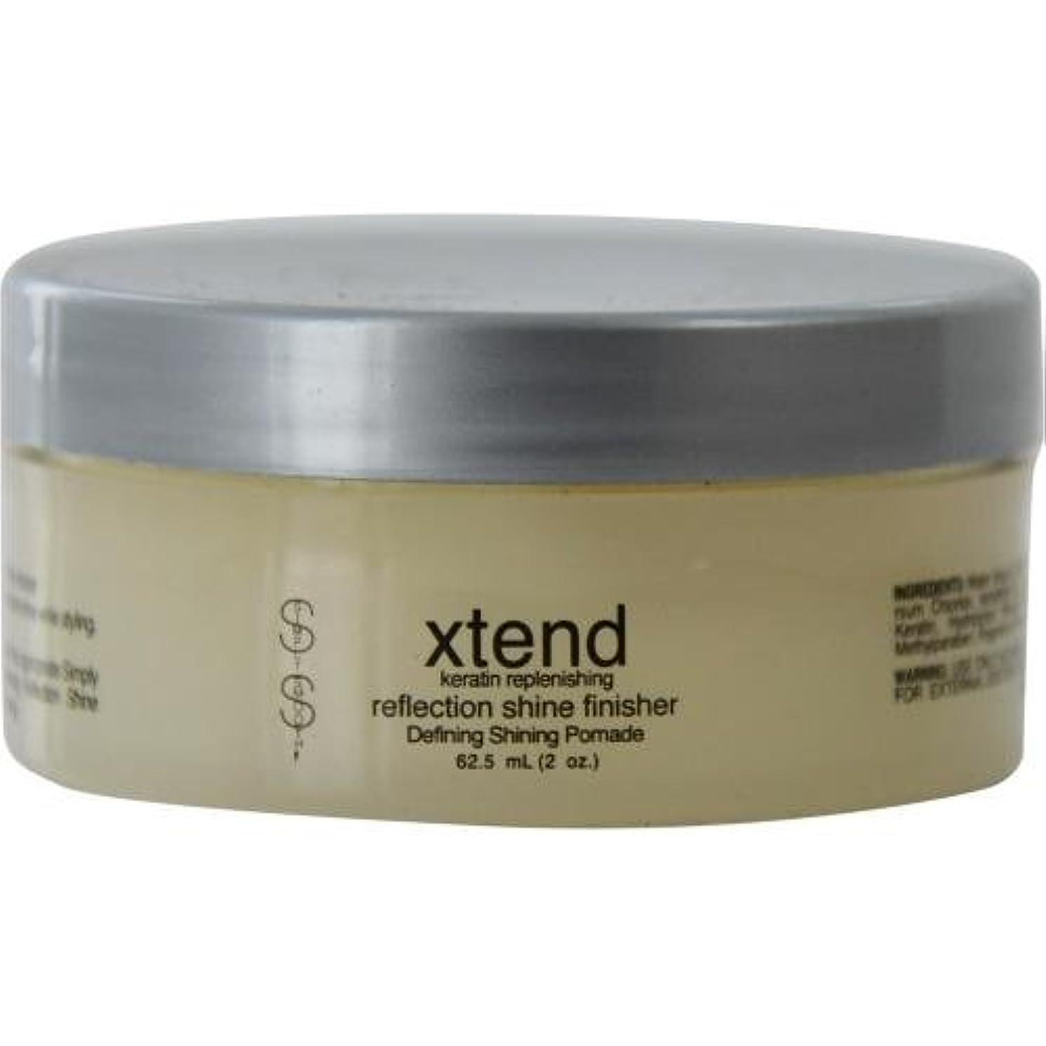 注文虐殺陸軍Simply Smooth Xtend Keratin Replenish Shine Finisher 60 ml (並行輸入品)