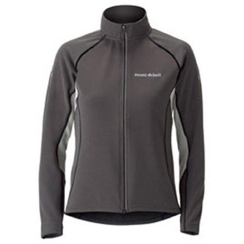 モンベル(mont‐bell) ジオライン3DサーマルサイクルジップシャツWomen's ダークチャコール DKCH S