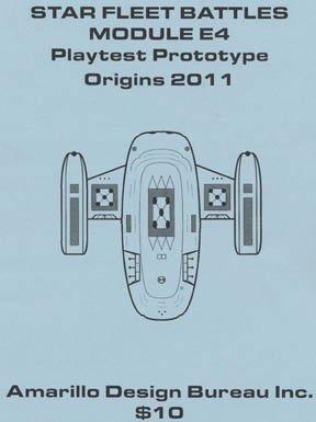 ADB: E4 Module for Star Fleet Battles