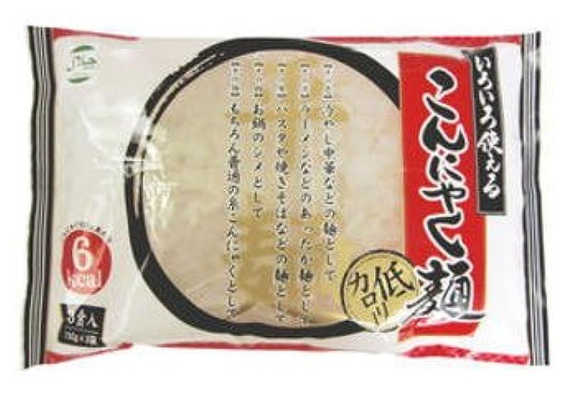 あいさつ漏れ乱れいろいろ使える こんにゃく麺 (150g×3食)12個入り