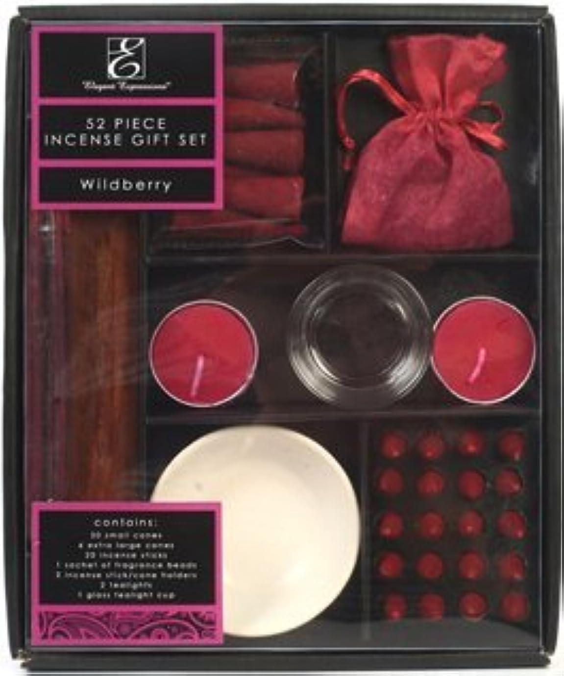 ミスペンド精通した足音アロマセラピーHosley Wild Berry Scentedプレミアムギフトパック、52 Pieces Highly香りつきIncense。手Fragranced、Infused with Essential Oils...
