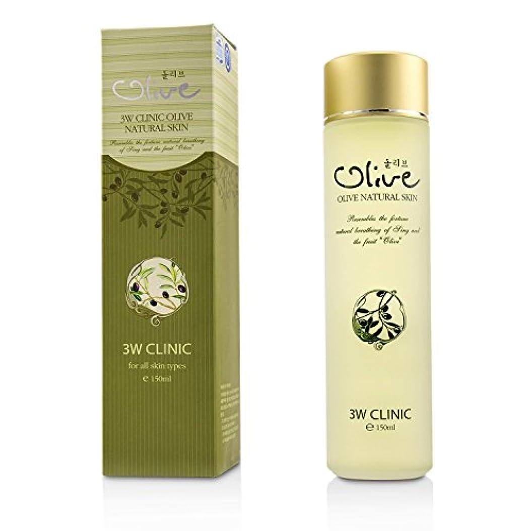 島アジア人教え3Wクリニック Olive Natural Skin 150ml/5oz並行輸入品