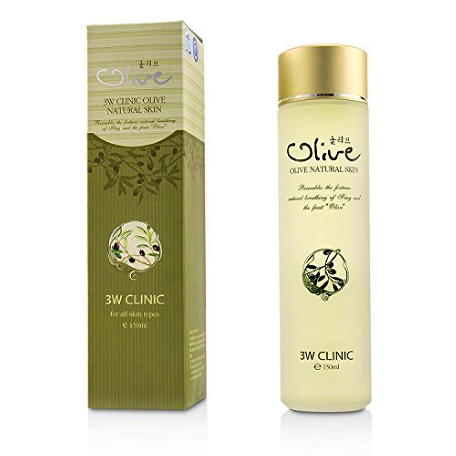 と組むネコ添付3Wクリニック Olive Natural Skin 150ml/5oz並行輸入品
