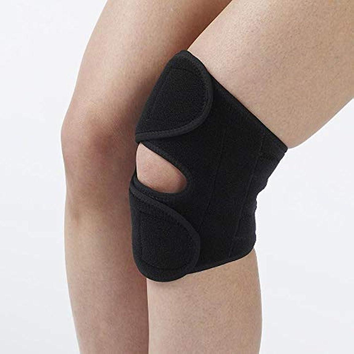 地震政策スラム竹虎 戸田先生のパッド付膝ベルト(1枚入) ブラック M 026073