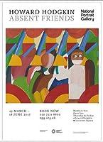 ポスター ハワード ホジキン Absent Friends The Tilsons Exhibition 額装品 アルミ製ベーシックフレーム