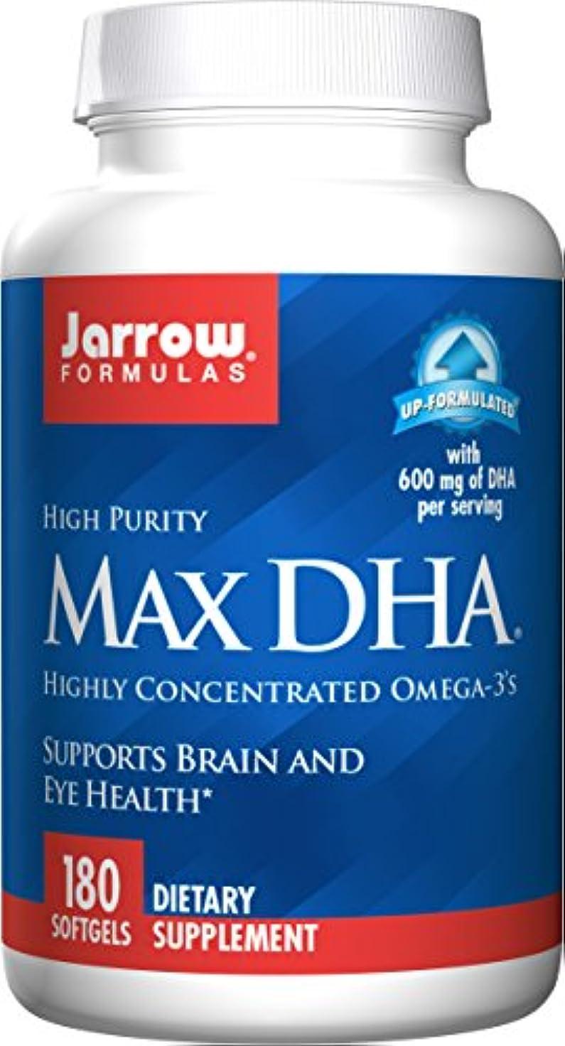 キャンディー経由で活性化する海外直送品 Jarrow Formulas Max DHA, 180 Softgel 607 MG