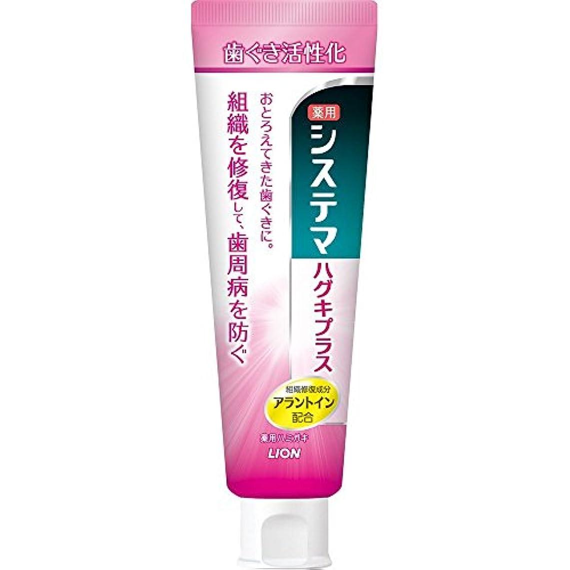 愛情神秘恵みシステマ ハグキプラス ハミガキ 90g (医薬部外品) x3本セット
