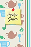 Recipe Jotter   Notebook: Baking and cooking gifts for baking and cooking lovers for men and women   Lined notebook/journal/diary/logbook/jotter
