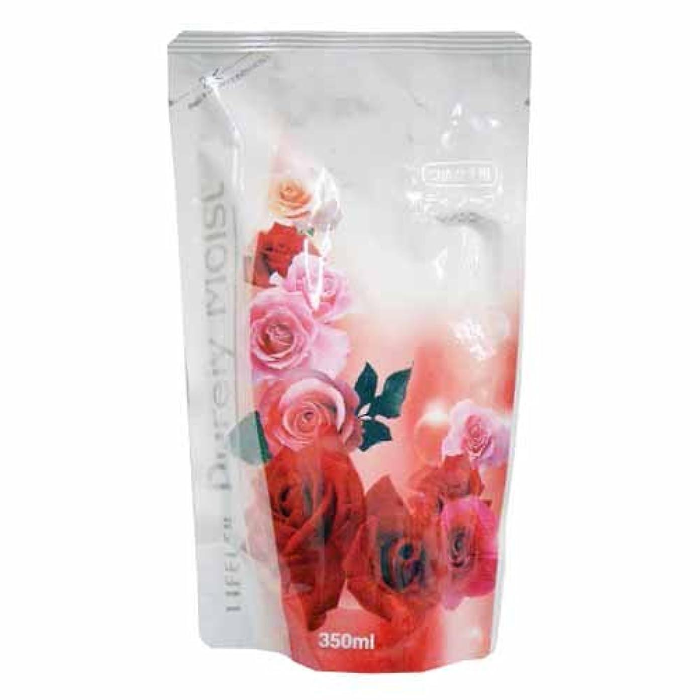一口リングレット着実にコーナンオリジナル Purely Moist ボディソープ ブルガリアンローズの香り つめかえ用 350ml