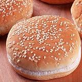 ミートガイ 冷凍ハンバーガー用バンズ (ゴマ付き) (4個) Frozen Hamburger Buns