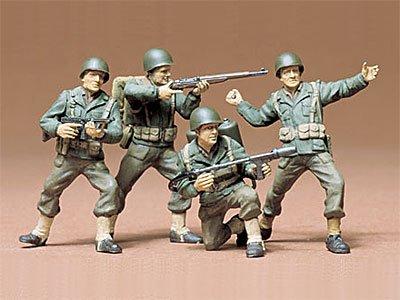 1/35 ミリタリーミニチュアシリーズ アメリカ歩兵