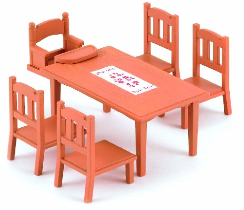 シルバニアファミリー ファミリー テーブル&チェアー セット UK版 [並行輸入品]