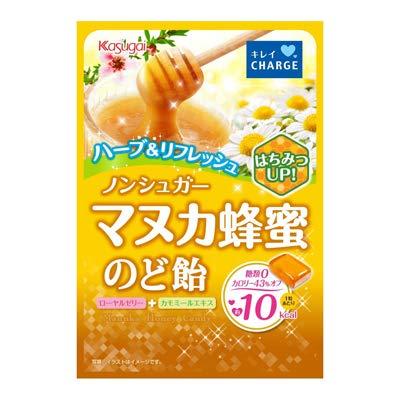 春日井 ノンシュガーマヌカ蜂蜜のど飴 70g 6コ入り